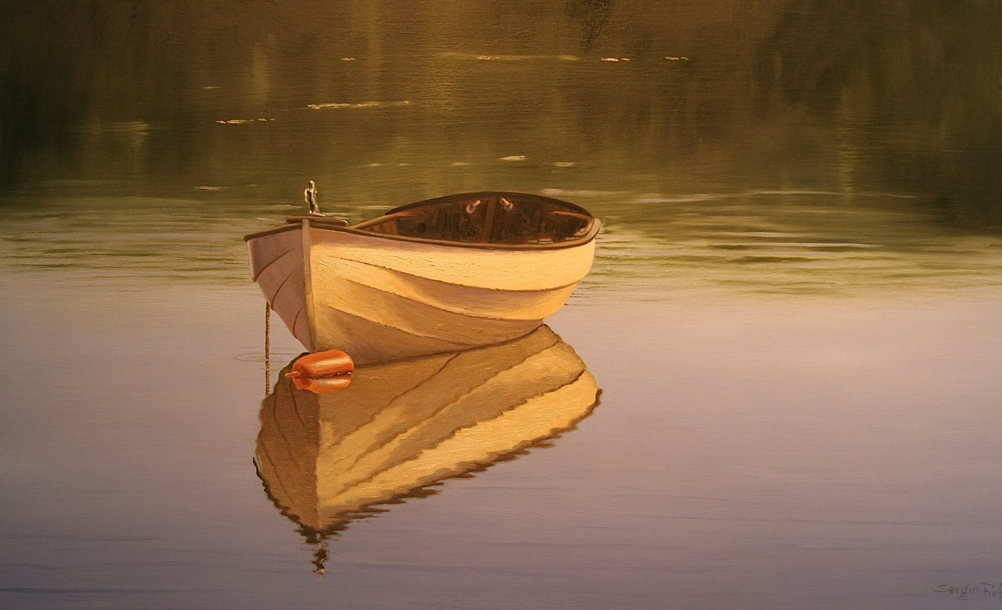 Calmness in Sunlight