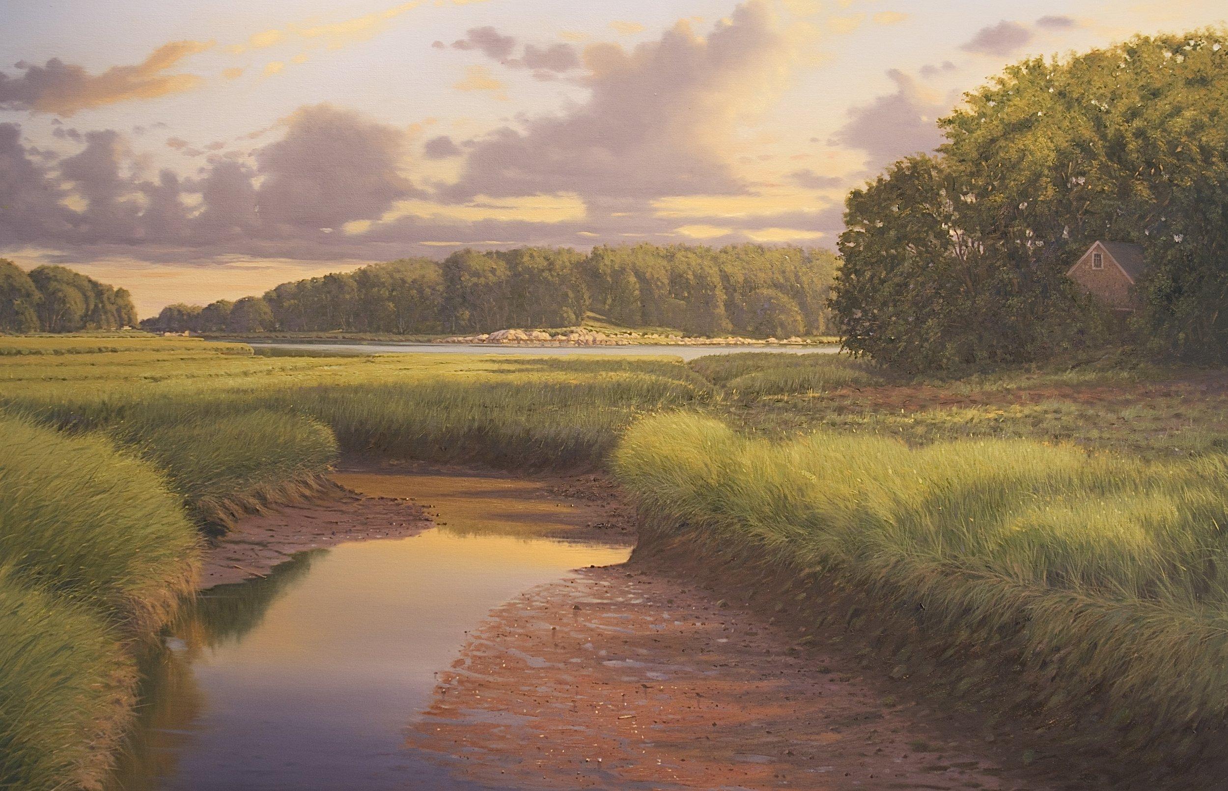 Tidal Marsh, Cohassett, MA