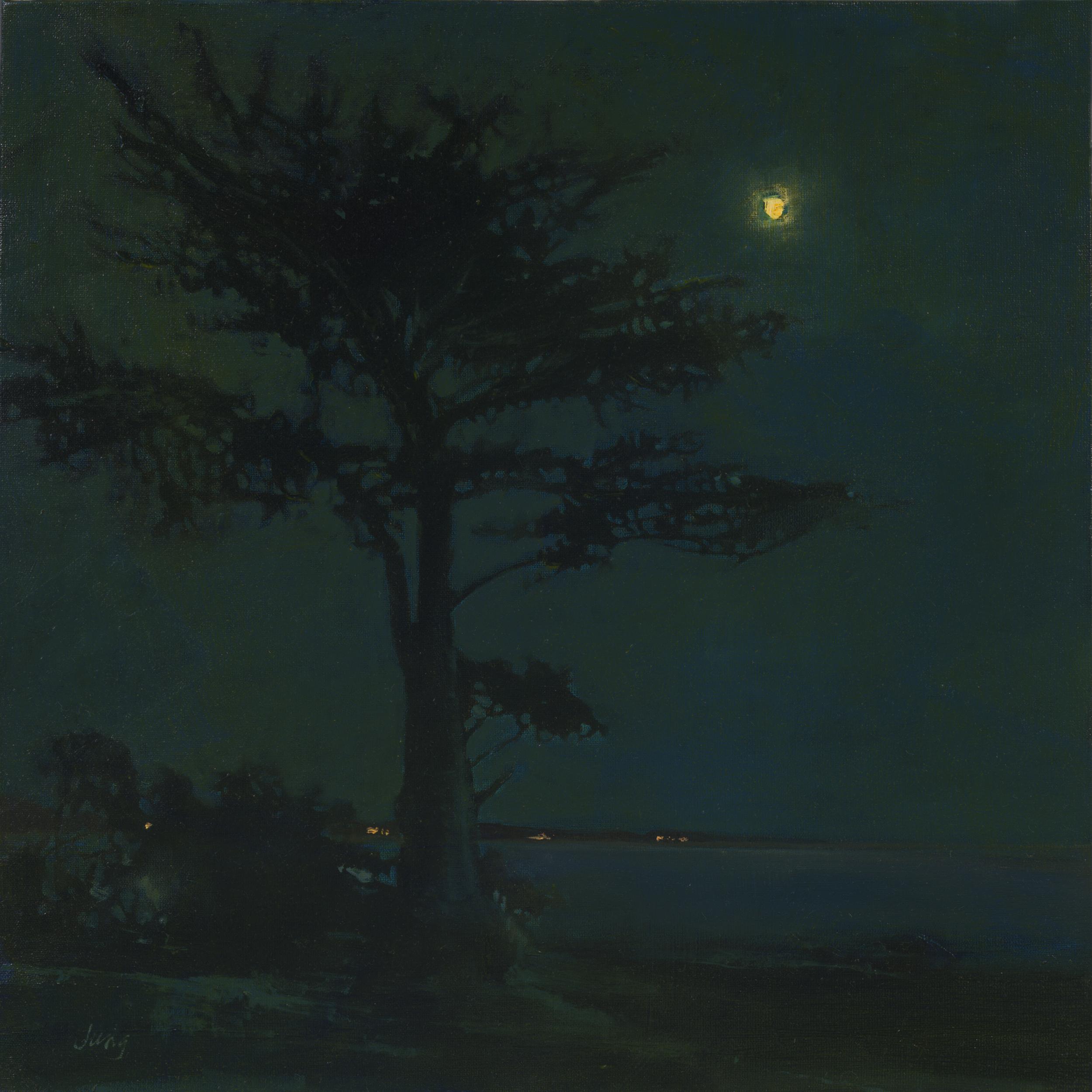Moonrise Over Steamer's Lane ~ Santa Cruz, CA