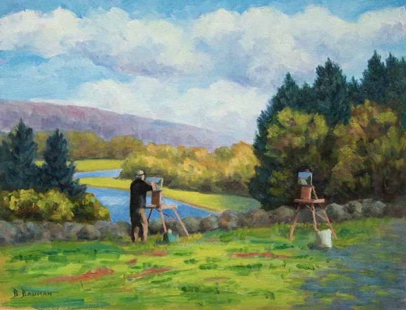 Robert Douglas Hunter Paints the Landscape