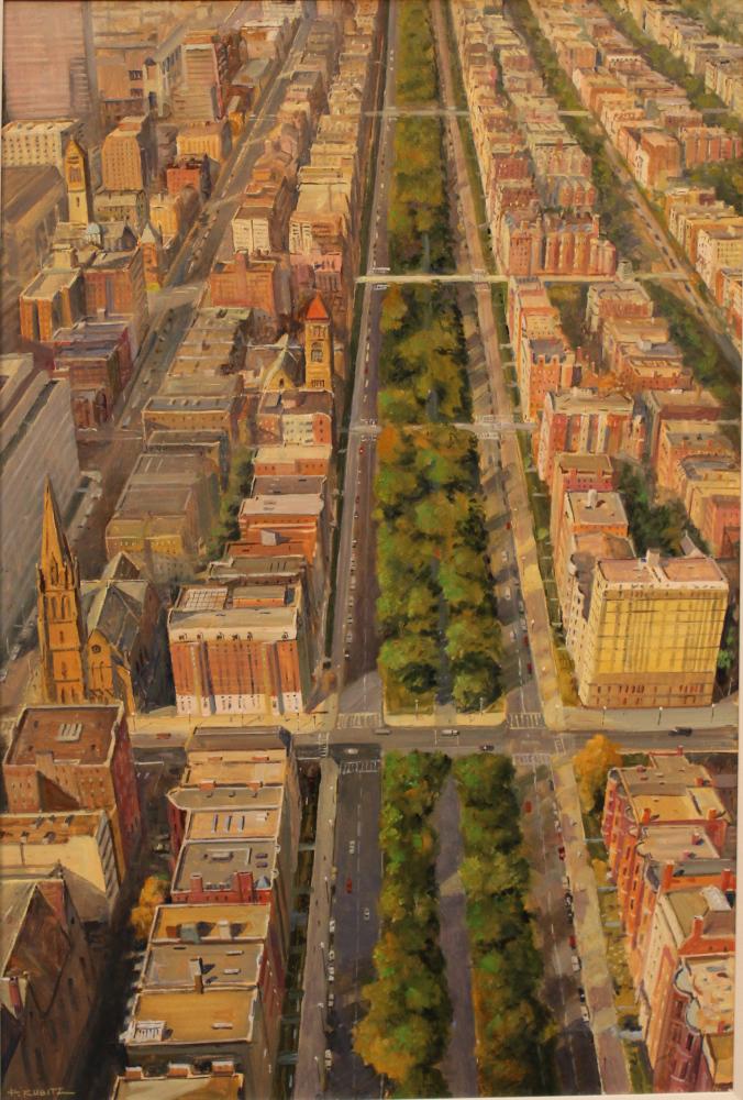 Boston's Grand Boulevard, Commonwealth Ave.