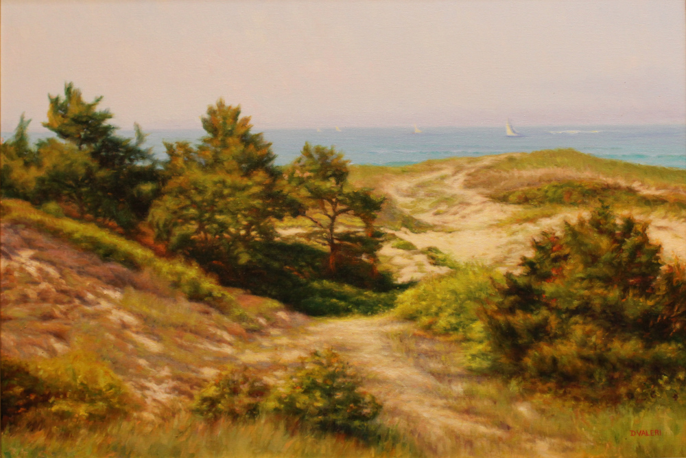 Dunes with Spruce