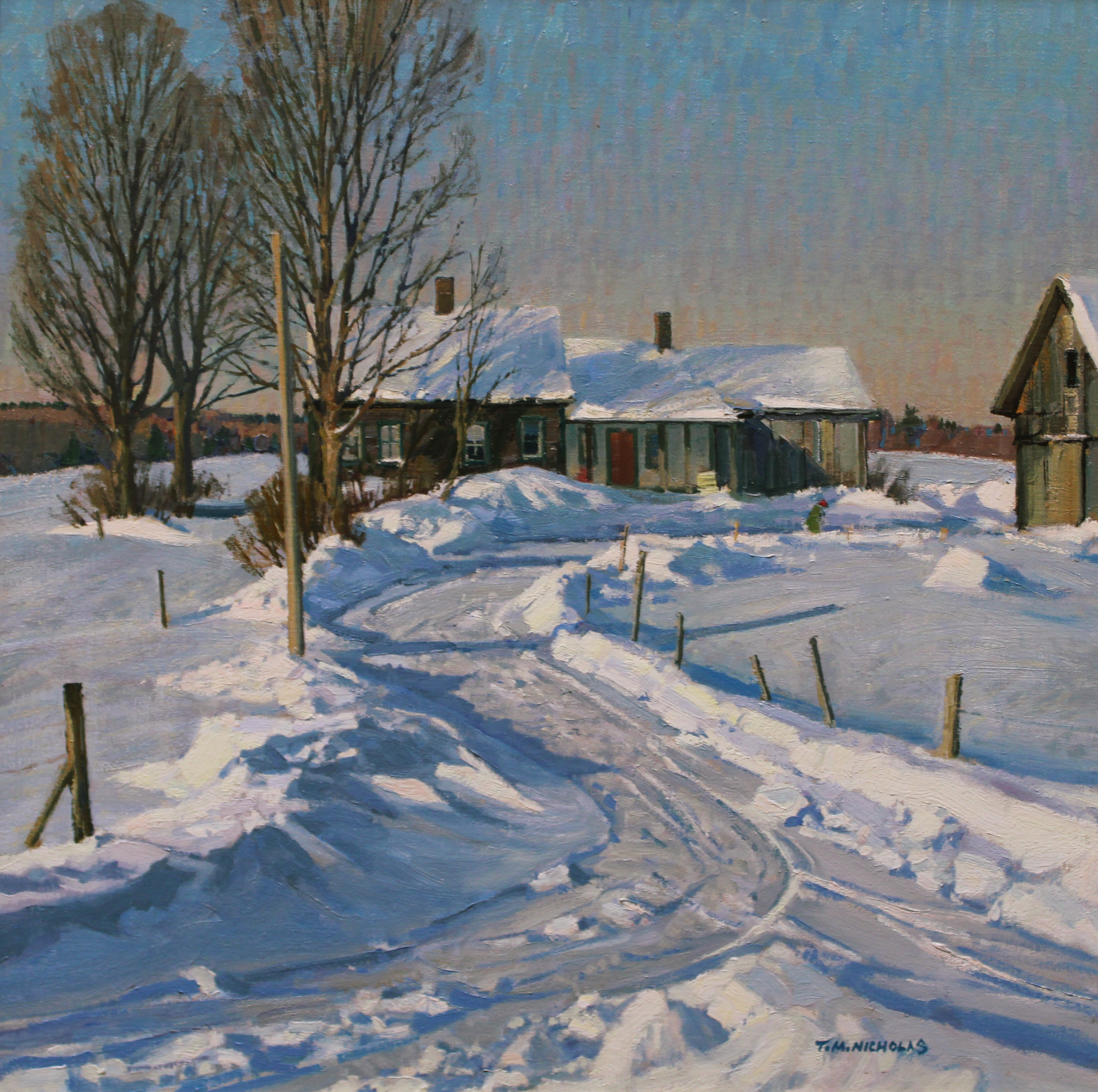 Cold Hollow Farm **Charles Movalli Memorial Medal for Excellence in Painting**