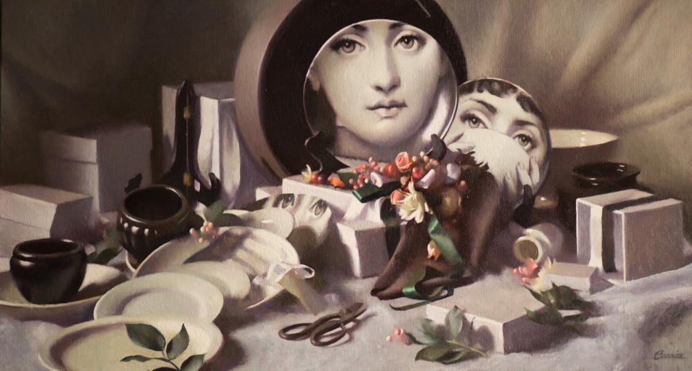 """Plates""  Margaret Carrier"