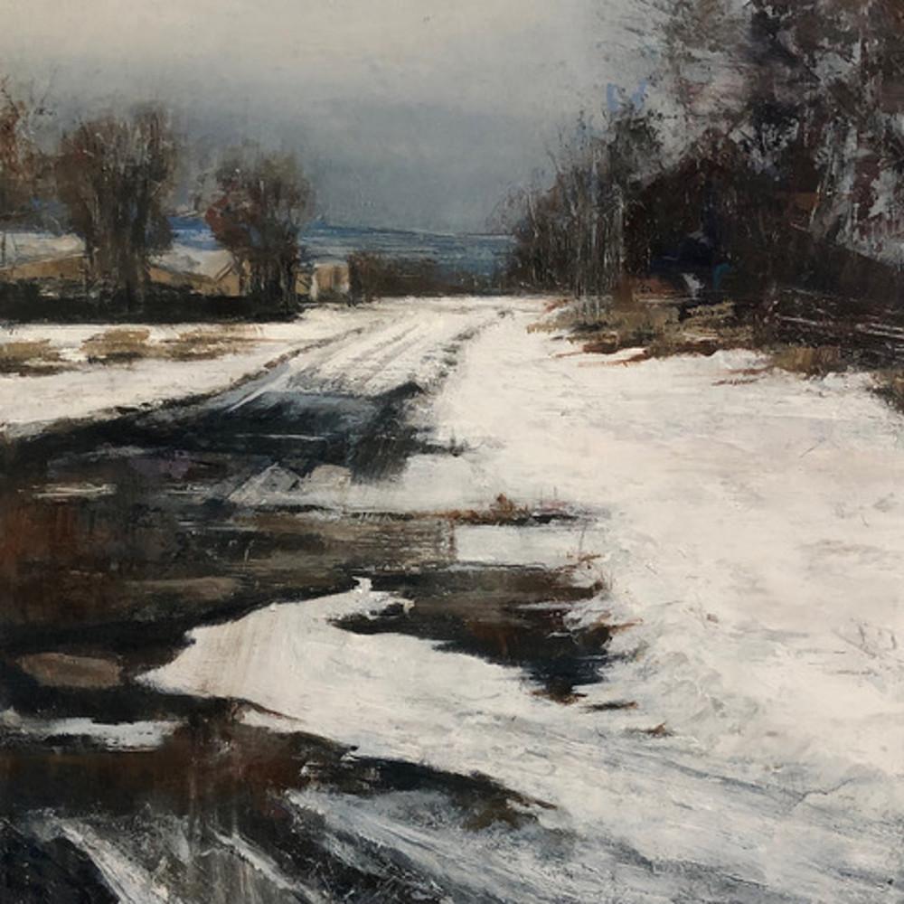 """""""Snowy Road"""" Wray Clifford"""