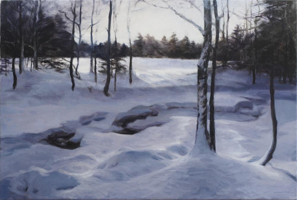 """Sleeping Brook""  Shelah Horvitz"
