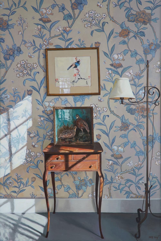 """Interior with Birds""  William Hoyt"