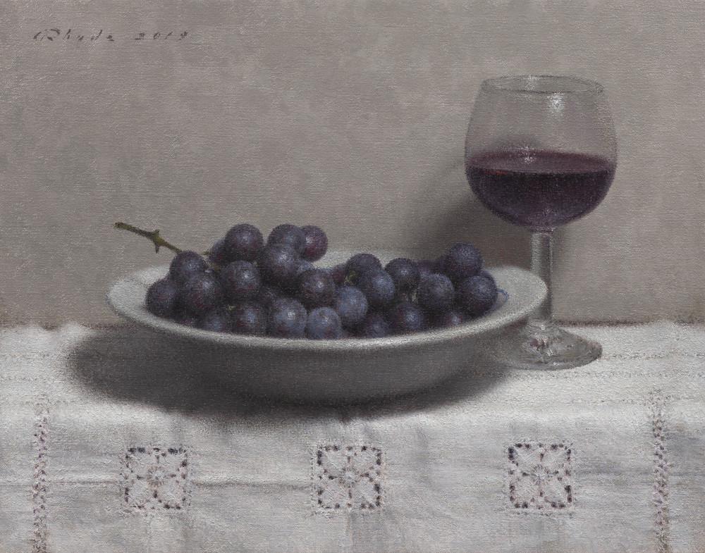 """Red Wine""  Adam Rhude"