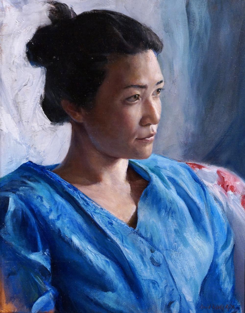 """Portrait of Jess""  David Roth"