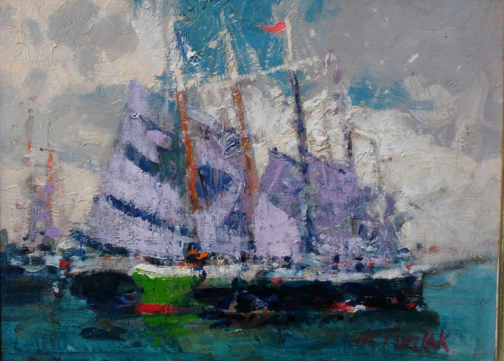 """Billowing Sails"""