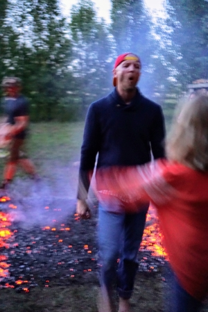 The firewalk is an amazing experience you will not want to miss! - This is your opportunity to experience a transformational journey through fire. During this workshop, we invite you to look at your life's obstacles, identify unsupportive conditioned behavior patterns, breakthrough your paralyzing fears, and shatter limiting beliefs that stand between you and your dreams. During this bonfire celebration, certified firewalk instructors Kirsten Harwick Mills and Brad Elpers will guide you through a self-empowerment program as part of your own journey to personal emotional and mental freedom. We are grateful to share our firewalk teaching experience with our community. Please bring your excitement, your joy, your fear, and anything you wish to motivate your bare feet across the burning hot coals.Please reserve your ticket so that we can create an AMAZING evening for you!