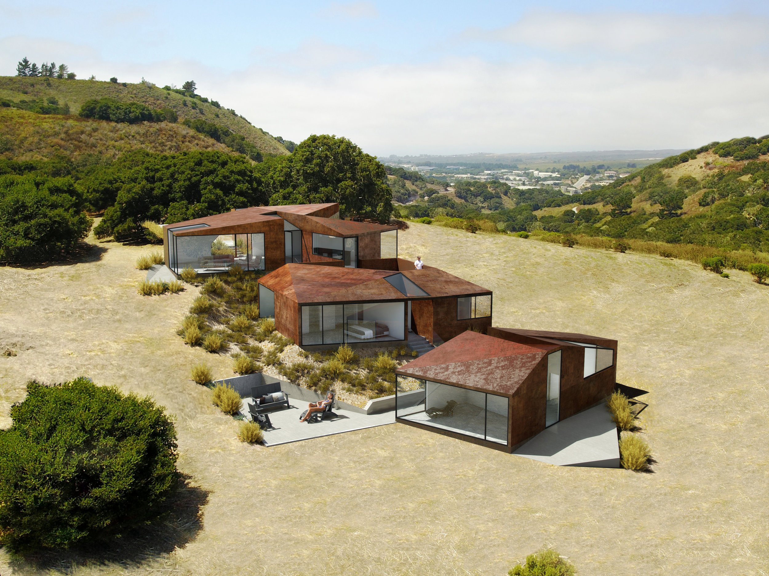 Walden Monterey blends luxury with sustainable low impact footprints