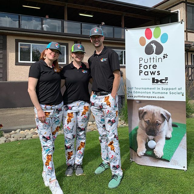 Another year, another cat pants picture! 😸 @loudmouthgolf_hq #PFP2019 #YEG #YEGGOLF