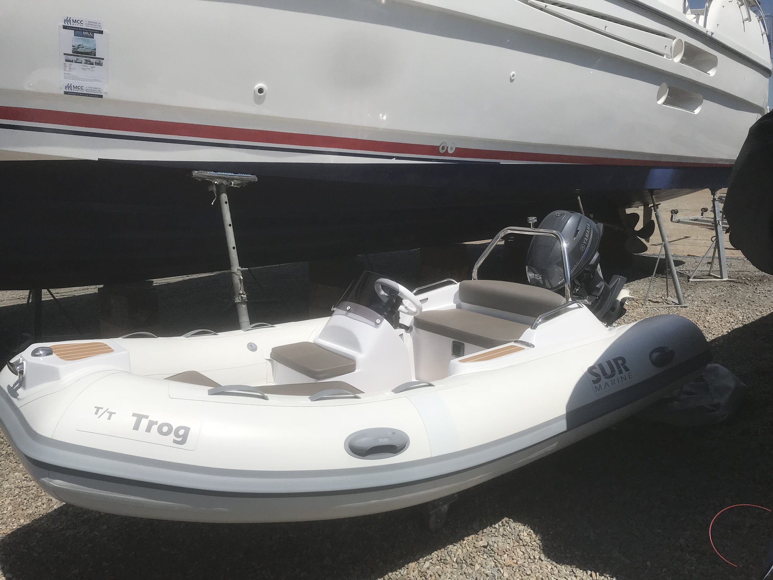SUR 370 Prestige ready for her new owner. July 2018