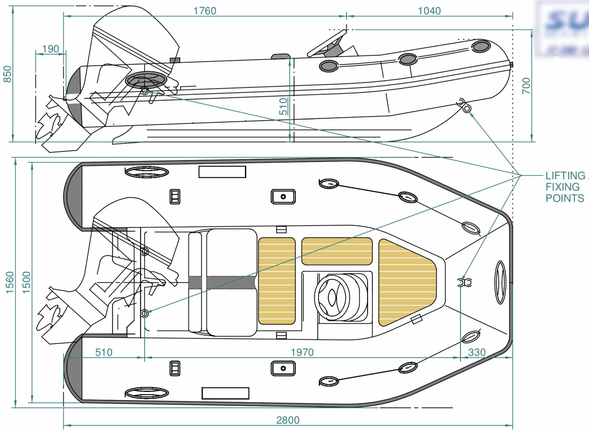 SUR Marine ST280 Classic