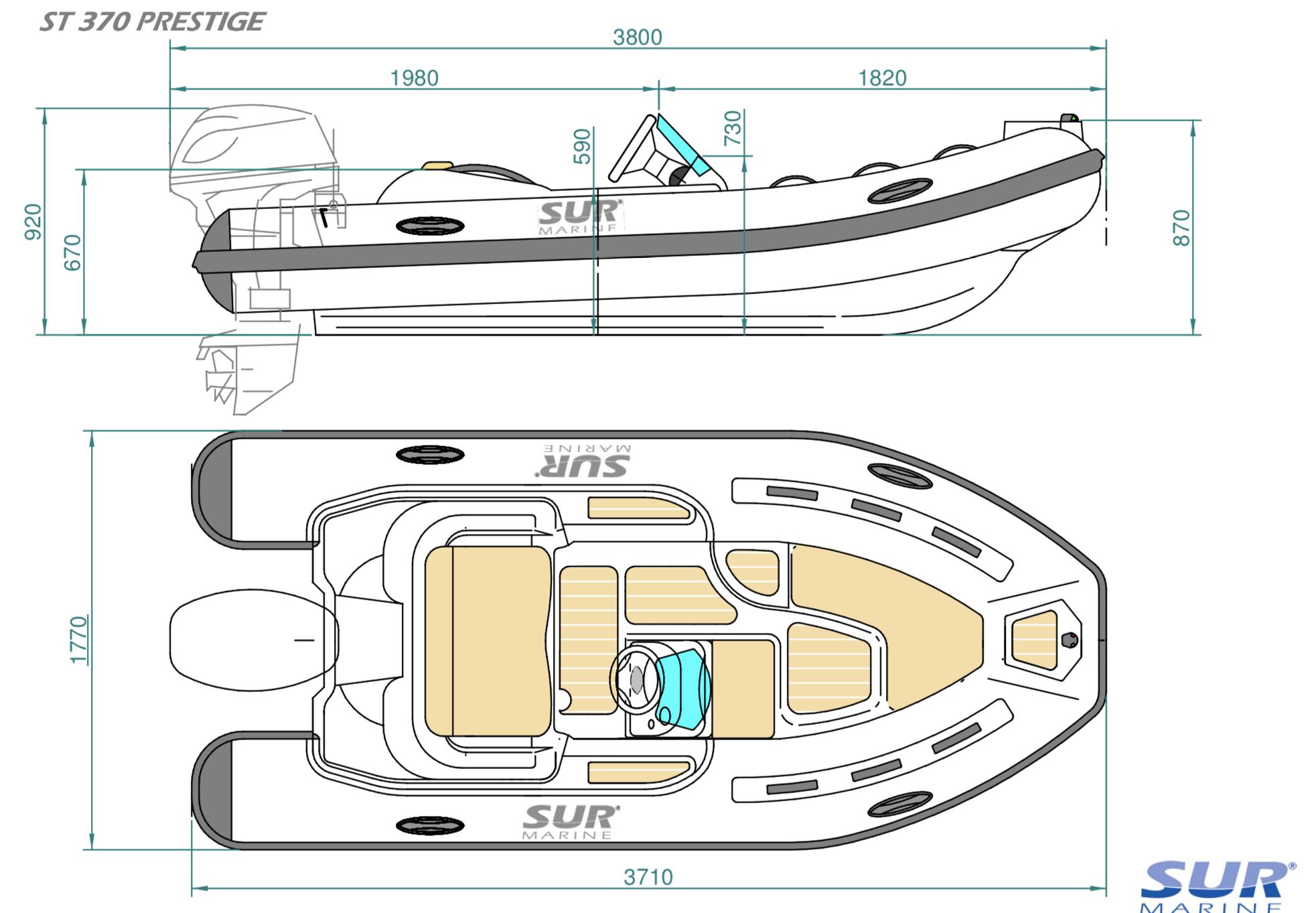 SUR Marine ST370 Prestige