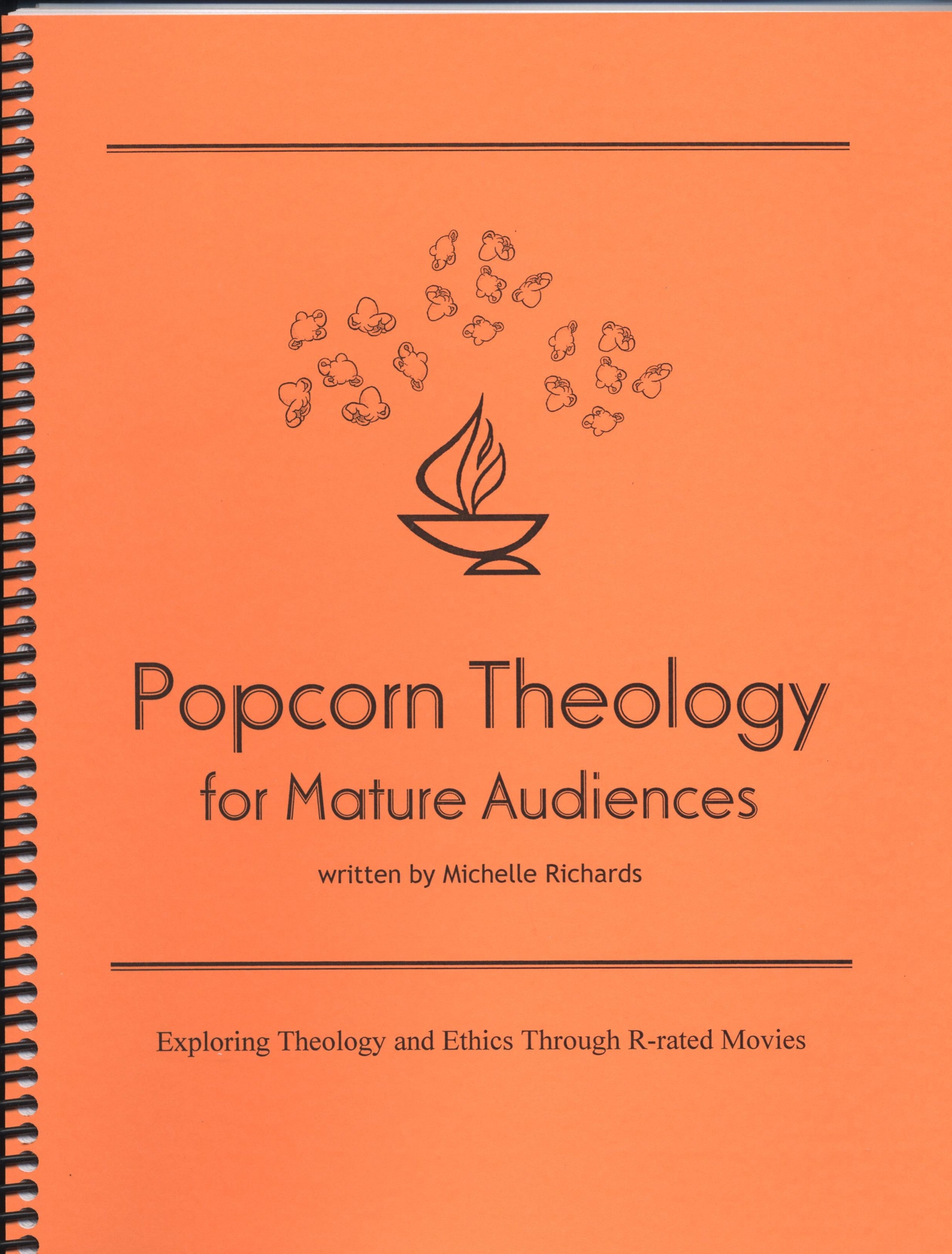 Popcorn Theology for Mature Audiences - This curriculum uses R-rated movies to explore issues of theology and ethics. Designed for use with young adult groups, adults and senior high youth.