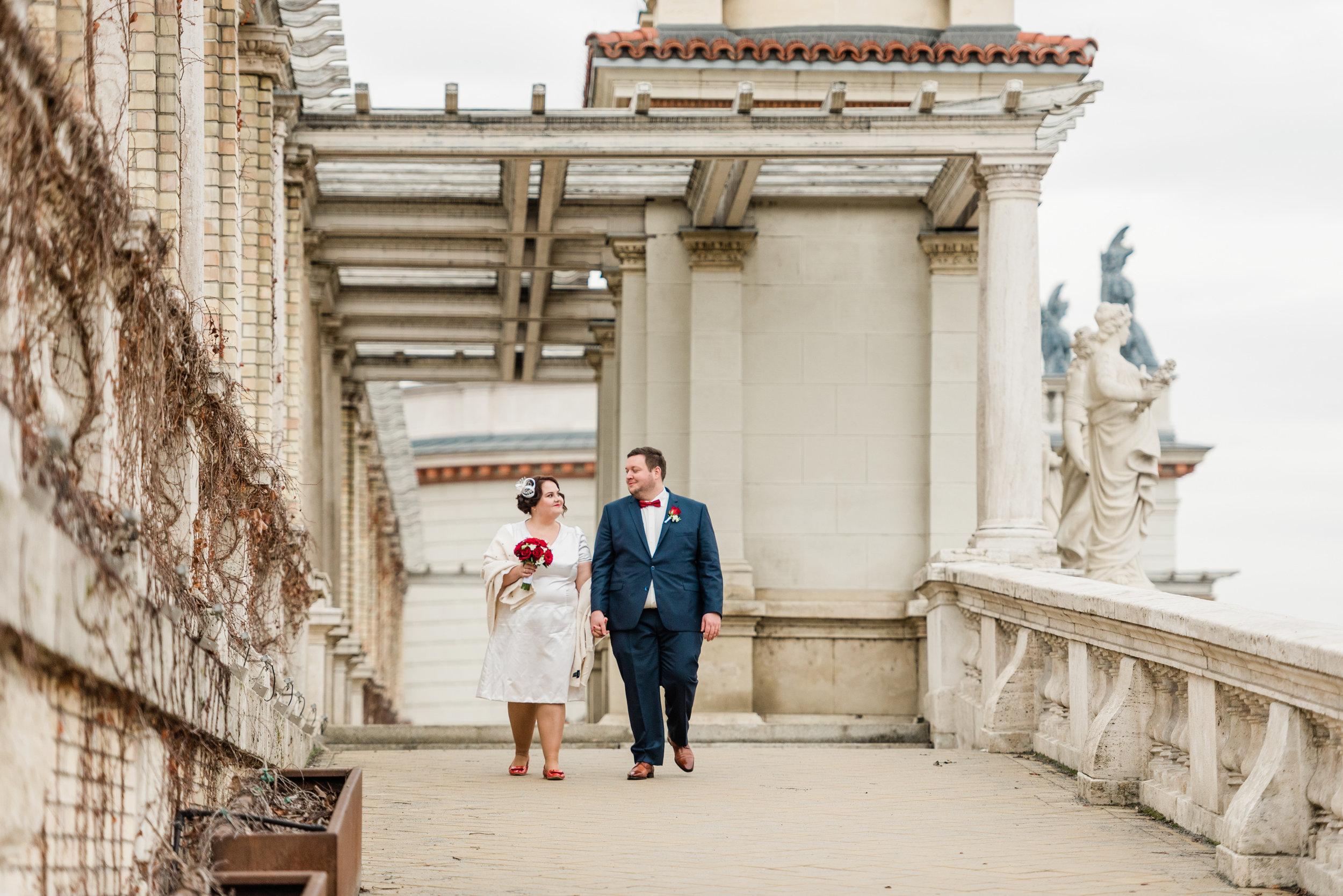 Esküvő fotózás Várkert Bazár