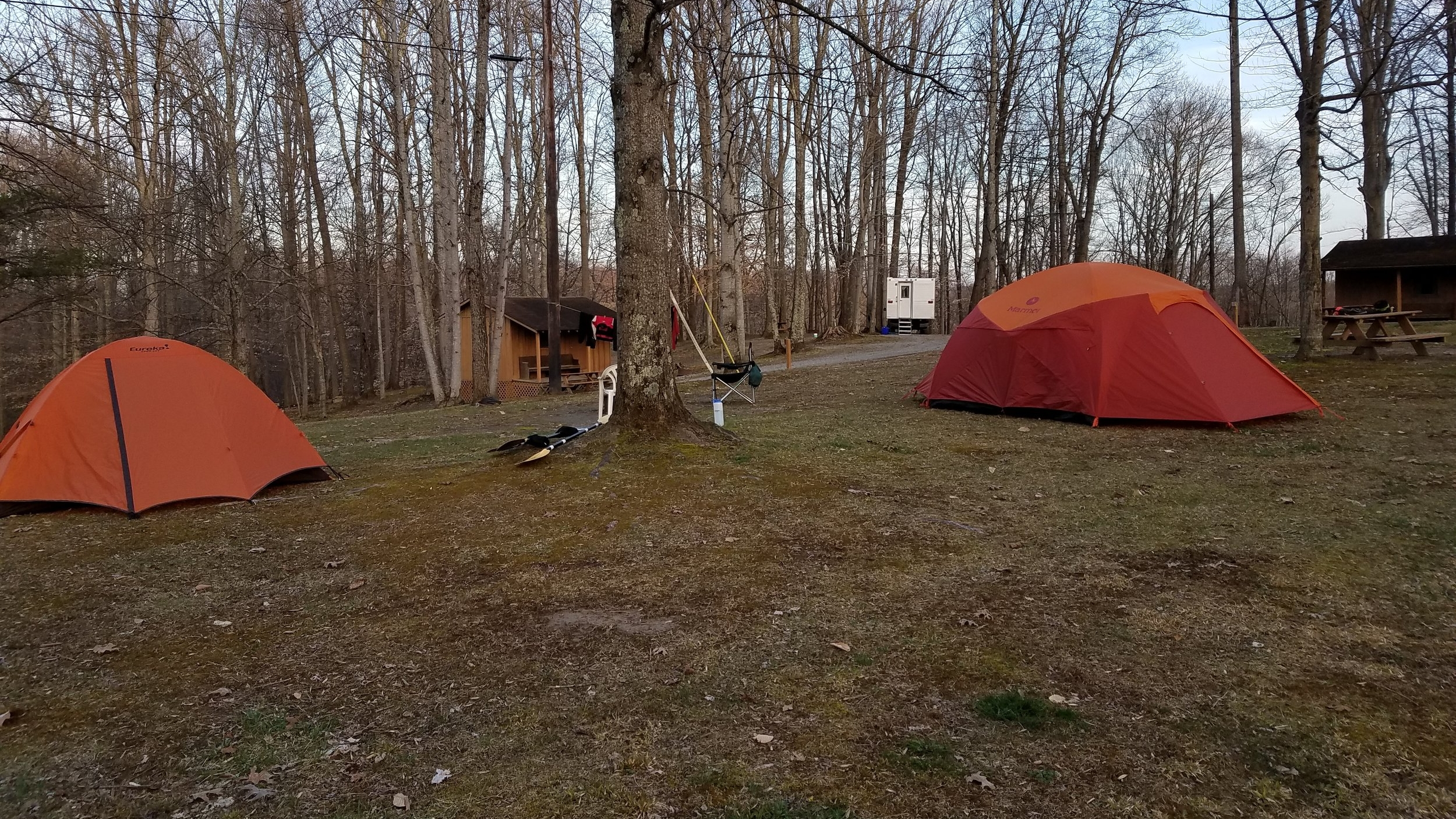 Tent Camping -