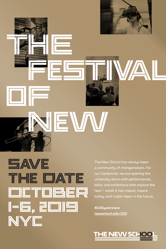 The New School's Centennial—Festival Save The Date.png