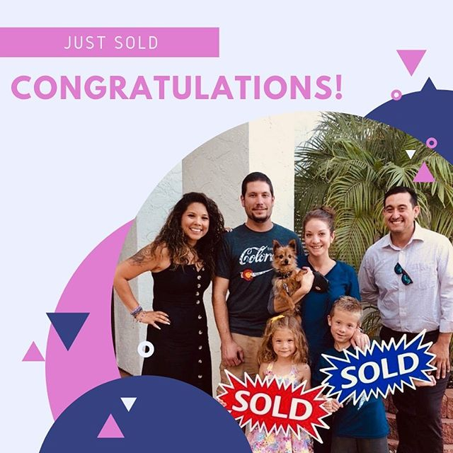 This job of ours isn't just about contracts, negotiations, and looking fabulous. It's also an opportunity to help amazing people, like this family, find a home with a backyard swing set, lots of fruit trees, and one of the best school districts in San Diego. We are thankful to be a part of our clients' journey to homeownership. Thank you @lucilampe for trusting us with your friends 🥰