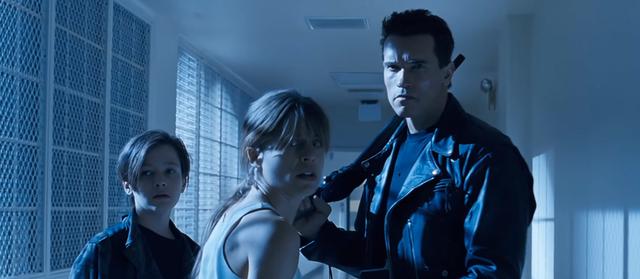 Fig. 3 -  Terminator 2 Judgment Day  (James Cameron, 1991).