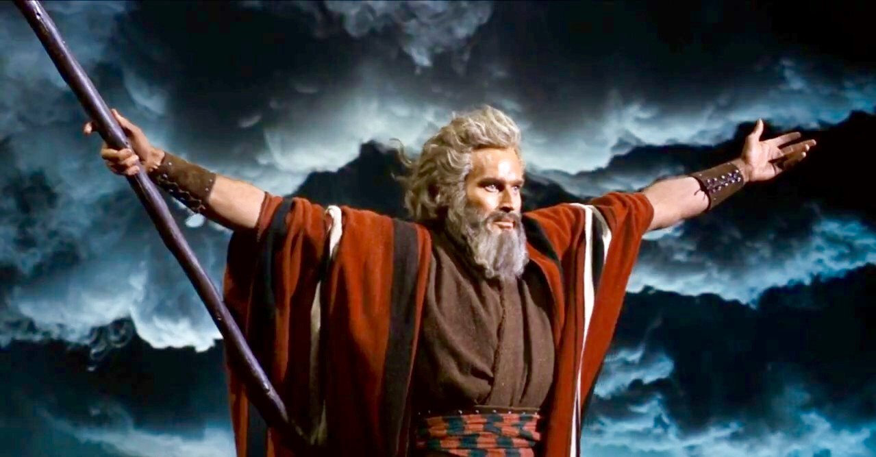 Fig. 2 - Biblical epic    The Ten   Commandments    (  Cecil Blount DeMille,1956  ).