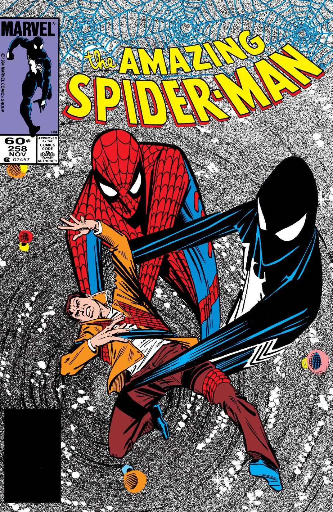 Fig.1 -  The Amazing Spider-Man  comic-book (#252-263, 1984-85).