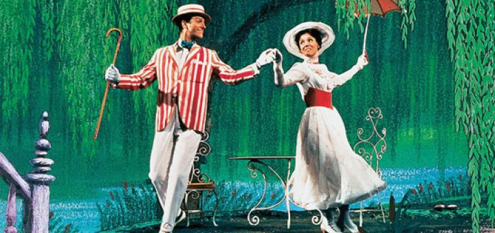 Mary Poppins  (Robert Stevenson, 1964).