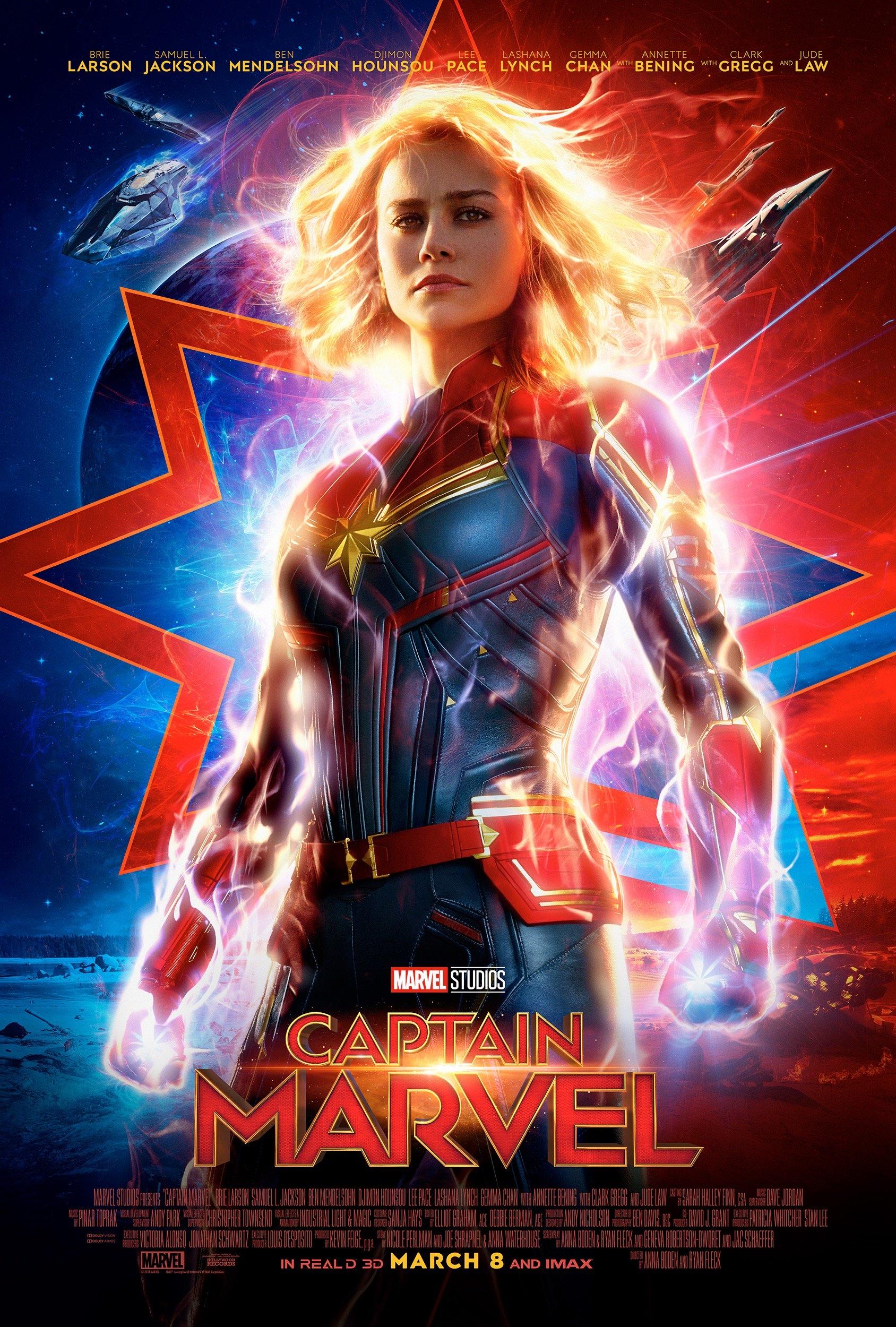 Fig.1 -  Captain Marvel  (Anna Boden and Ryan Flack, 2019).