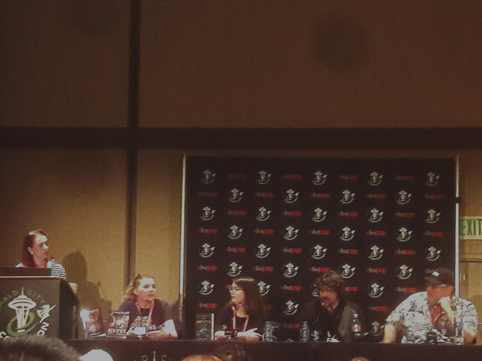 """Fig. 2 - The """"Making the Unbelievable Believable"""" panel at ECCC 2019."""