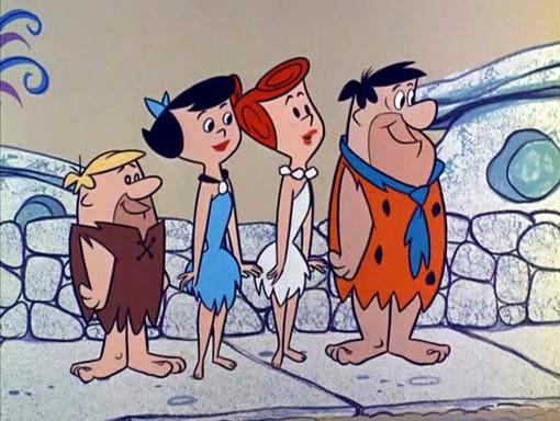 Fig. 1 -  The Flintstones  (William Hanna & Joseph Barbera, 1960-).