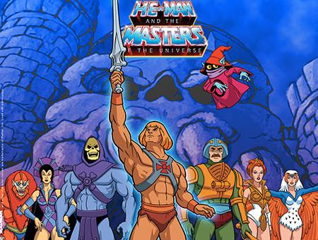 Fig. 2 -  He-Man and the Masters of the Universe  (Michael Halperin, 1983-85).