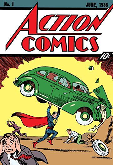 Fig. 1 - Action Comics #1 (June 1938).