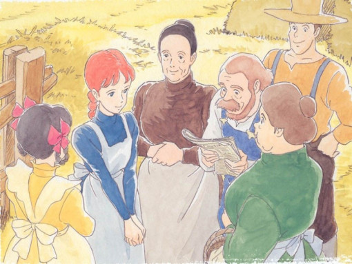 Fig. 5 -  Anne of Green Gables  (Isao Takahata, 1979).