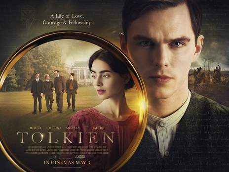 Fig. 1 -  Tolkien  (Dome Karukoski, 2019).