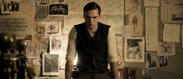 Fig. 3 - Nicholas Hoult as J.R.R. Tolkien.