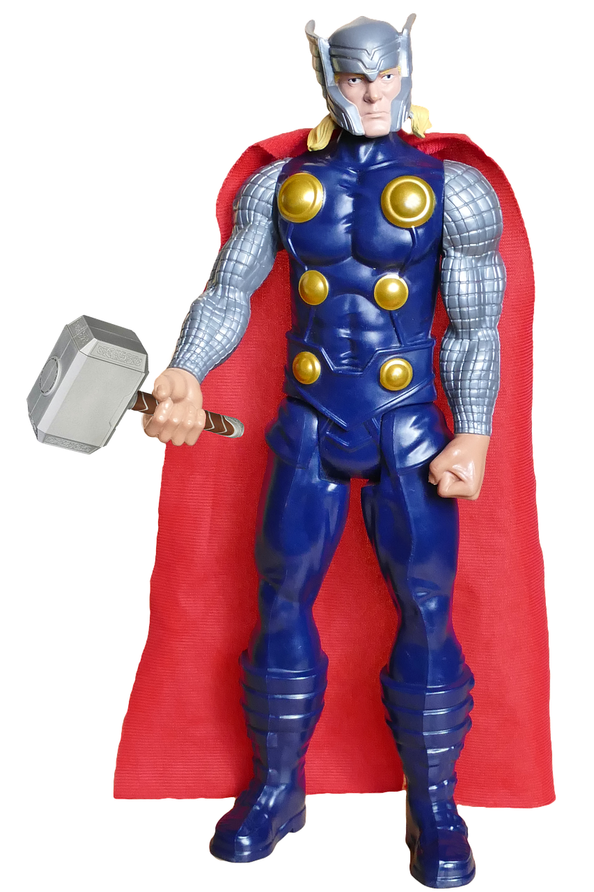 Fig. 2 - Marvel's Thor action figure.
