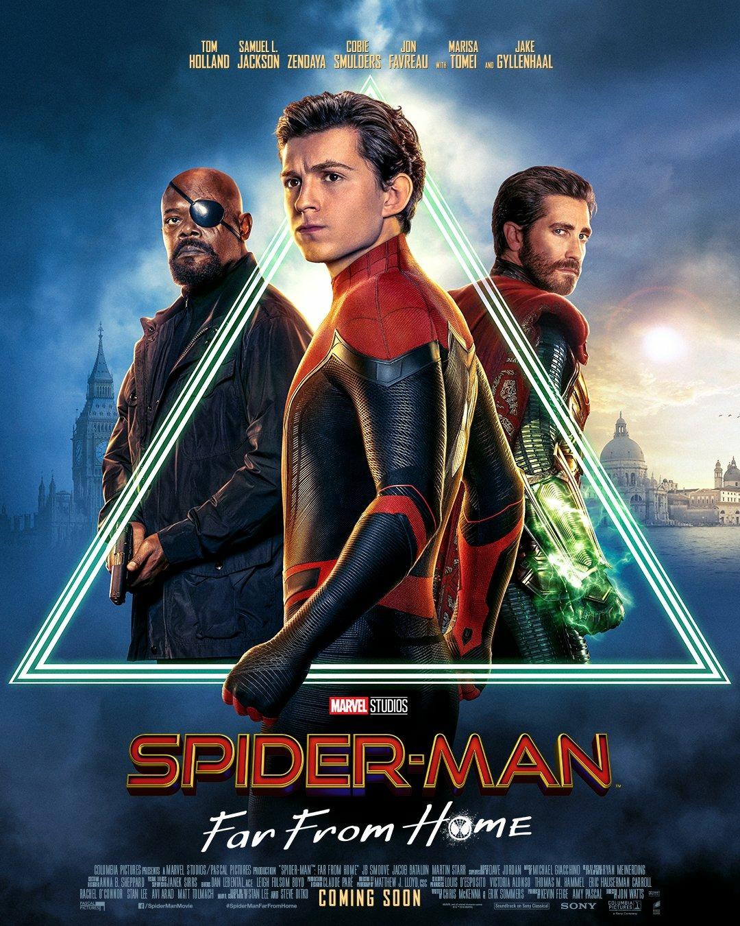 Fig. 1 -  Spider-Man: Far From Home  (Jon Watts, 2019).