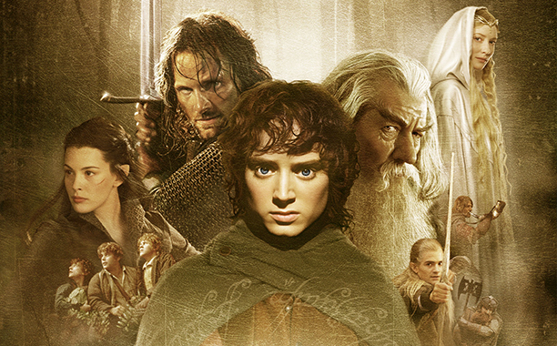 The Lord of the Rings: The Fellowship of the Ring  (Peter Jackson, 2001).