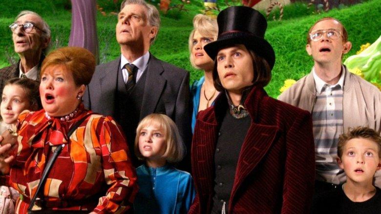 Charlie and the Chocolate Factory  (Tim Burton, 2005).