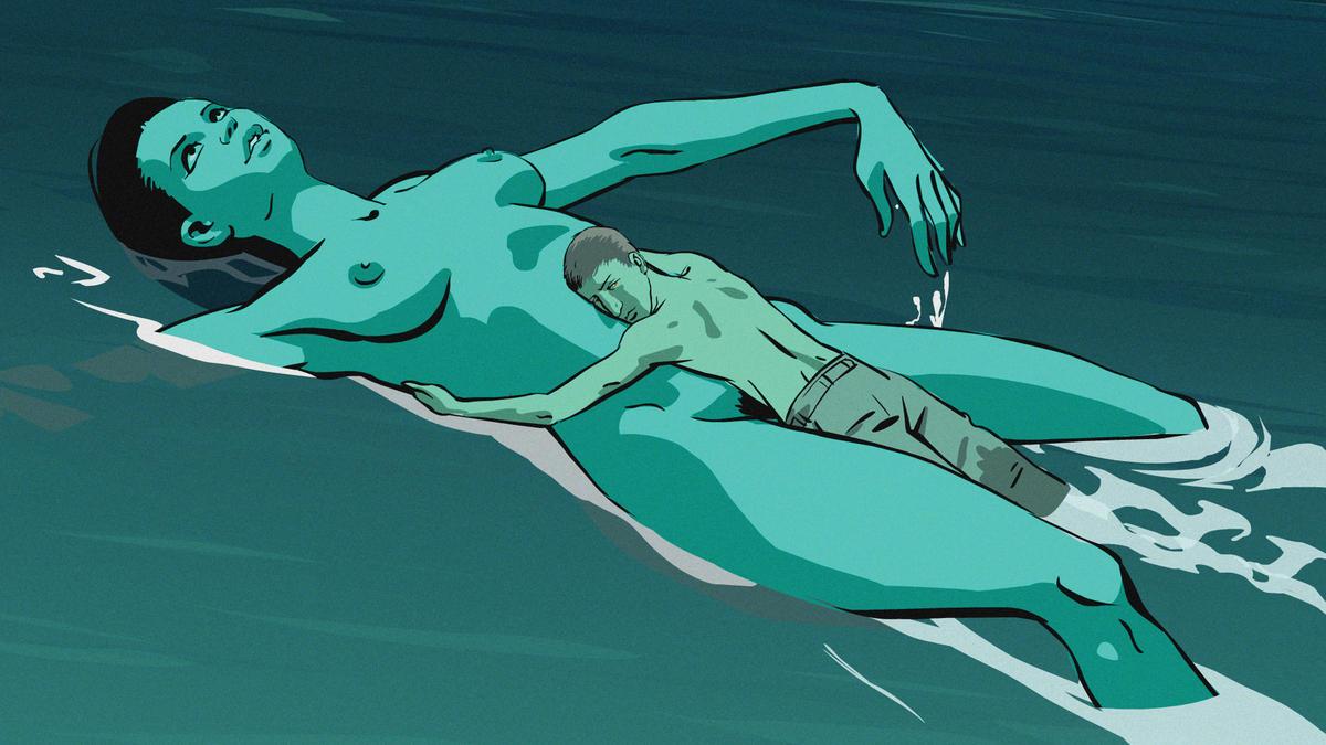 Fig. 4 -  Waltz with Bashir  (Ari Folman, 2008).