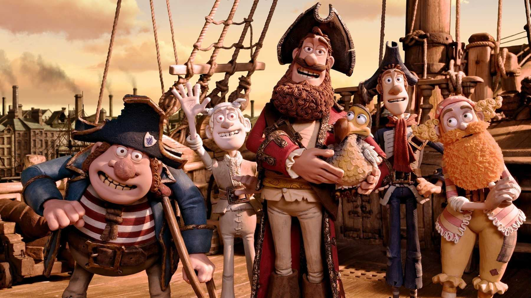 The Pirates! In an Adventure with Scientists!  (Peter Lord, 2012).