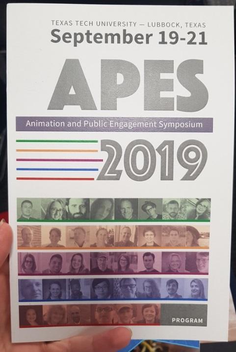 Fig. 1 - Animation and Public Engagement Symposium (APES) 2019.