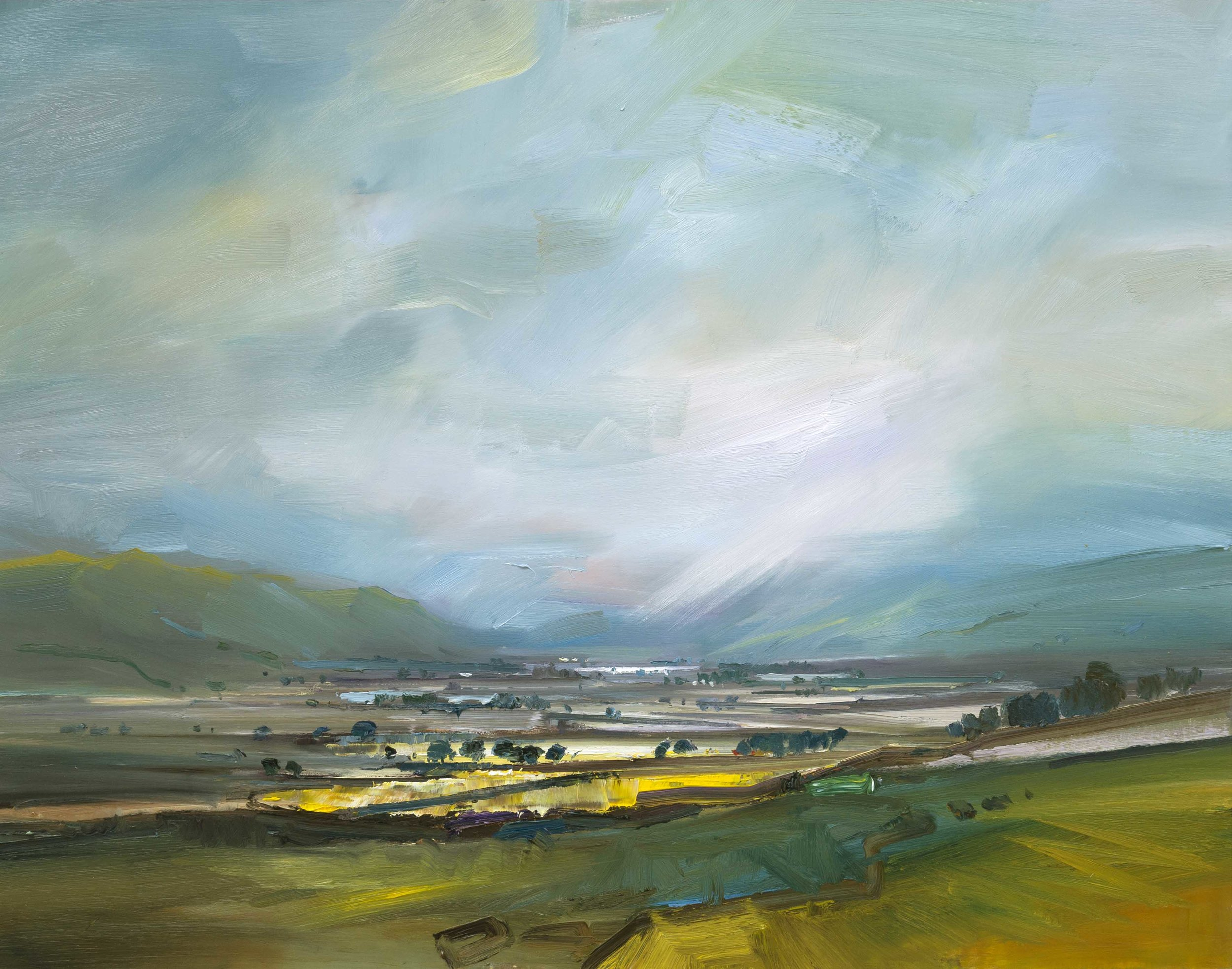 6.A Distant Glint of Light in the Valley. Lake District 71x91 ob copy.jpg