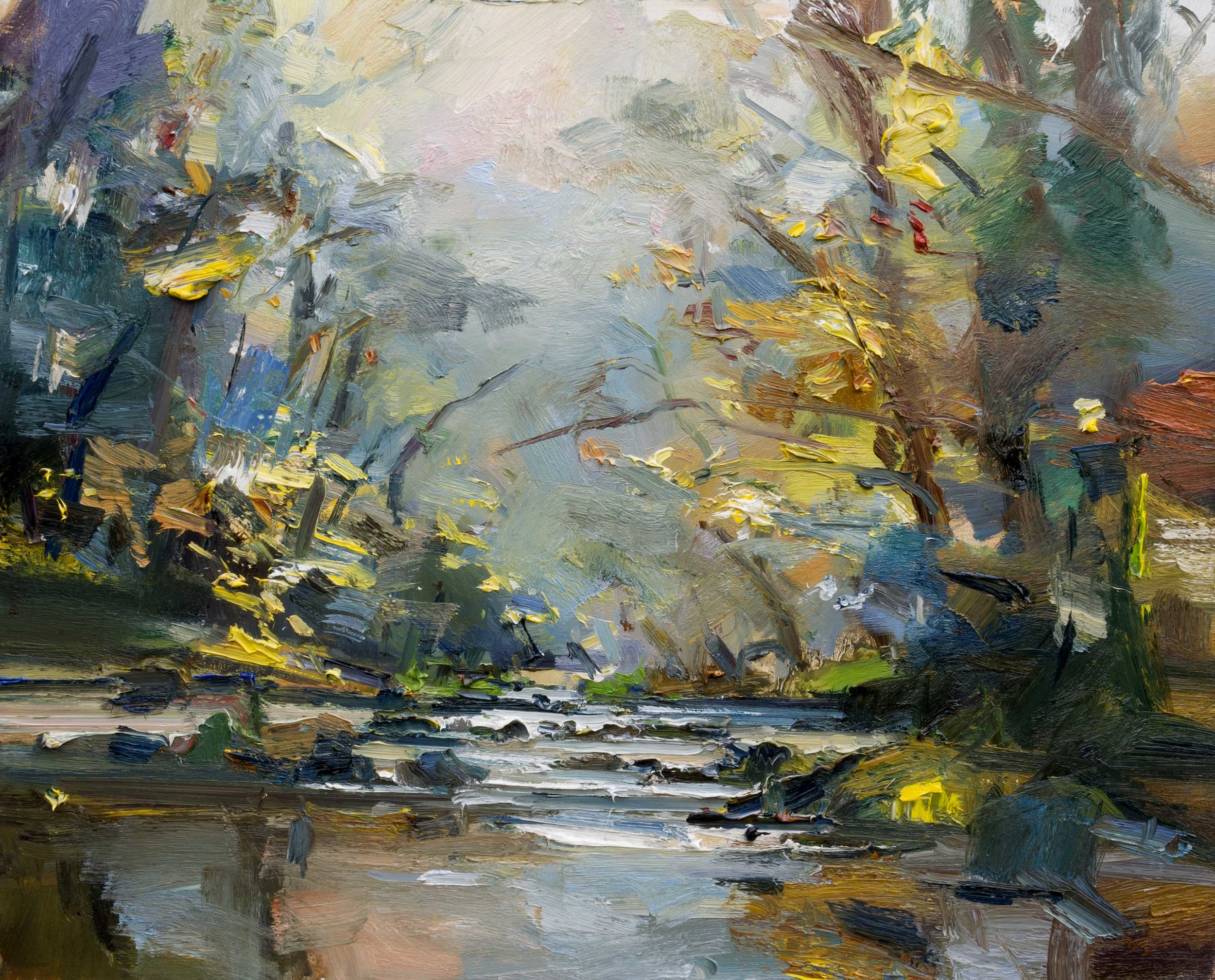 20. The River Plym in Autumn 61x76 ob copy.jpg