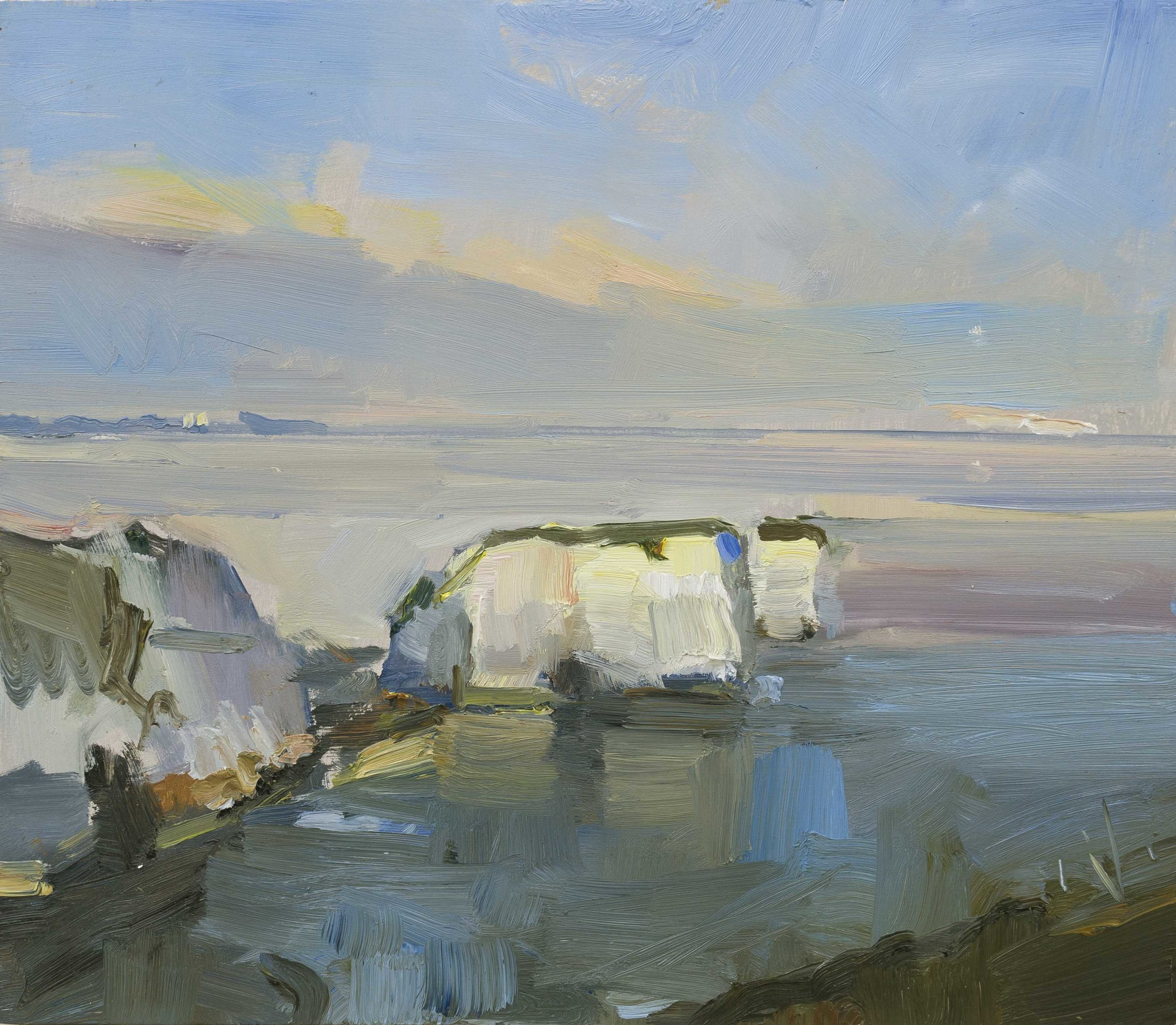 24.Autumn Evening Old Harry Rocks Dorset 35x41 ob copy.jpg
