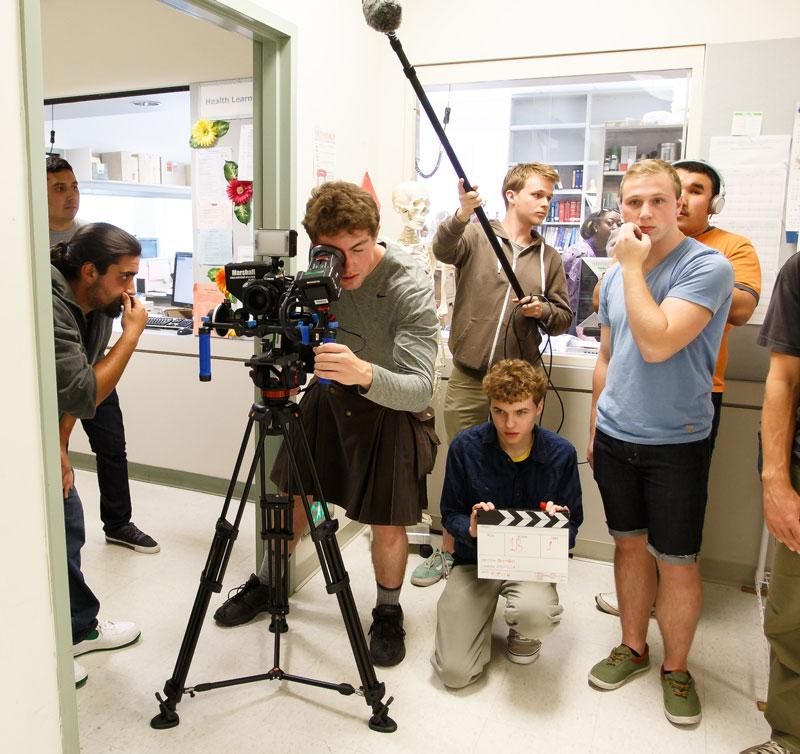 Student video crew