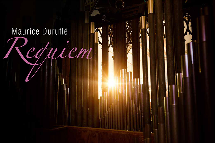 Maurice Duruflé:  Requiem     David Jonies, organ      Sunday, June 9, 2019 at 3:00 PM   St. Thomas the Apostle Catholic Church  5467 S. Woodlawn Avenue, Chicago