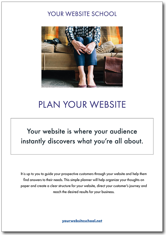 Download your free planner! - We love to help you shine online.